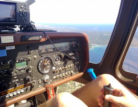 Grob 1019B cockpit