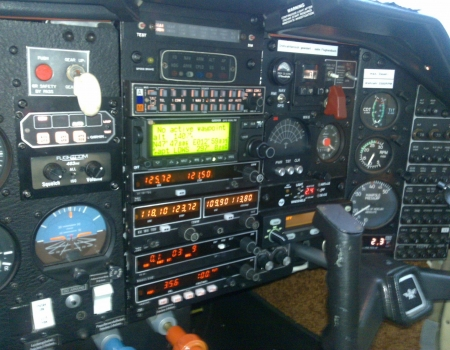Mooney M20K Instrument Panel