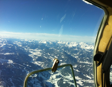 Mooney M20K winter flying