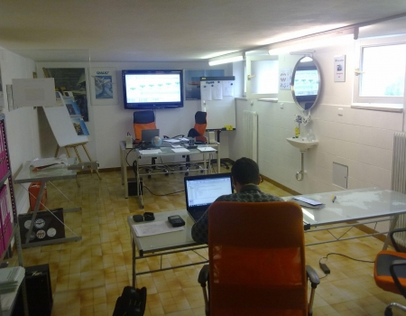 checkflug.eu classroom at Salzburg