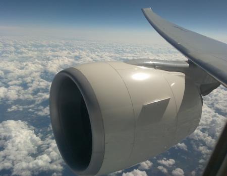 Boeing 777-300ER Turbine