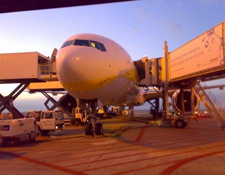 Boeing 777 Gate
