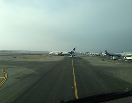 Taxiway New York JFK International Aiport KFJK