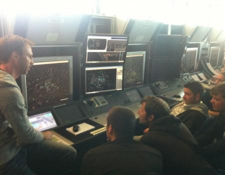 ATC Communication Austro Control Centre Vienna