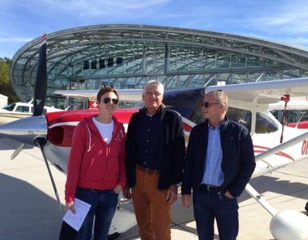 Flight Instructor Salzburg LOWS Hangar 8