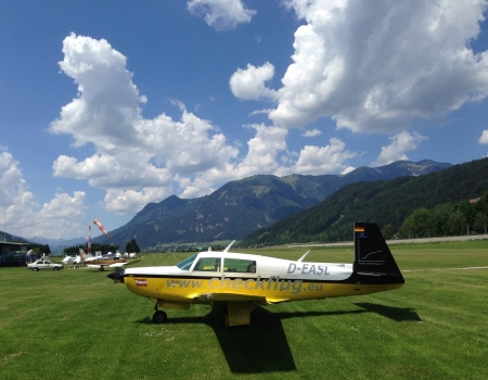 Mooney M20K Aircraft at Timmersdorf LOGT